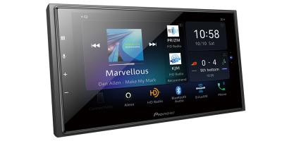 Pioneer In-Dash Multimedia Receiver With WVGA Capacitive Touchscreen Display - DMH-W4660NEX