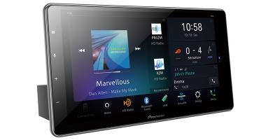 Pioneer Multimedia Receiver With HD Capacitive Touch Floating Display - DMH-WT7600NEX