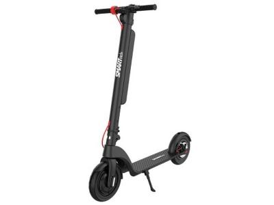 SmartKick Electric Kick Scooter with Quick Removable Battery, Triple Breaks - X8 Plus