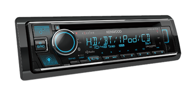 Kenwood CD Receiver With Bluetooth And HD Radio - KDC-X704