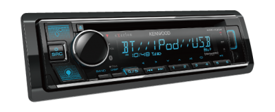 Kenwood CD Receiver with Bluetooth - KDCX304