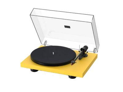 Project Audio Debut Carbon EVO Turntable  in Satin Golden Yellow - PJ97825995