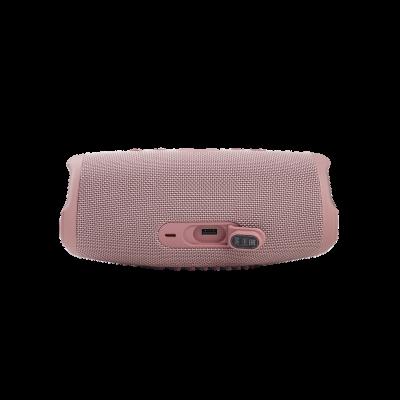 JBL Charge 5 Portable Waterproof Speaker With Powerbank In Pink - JBLCHARGE5PINKAM
