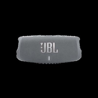 JBL Charge 5 Portable Waterproof Speaker With Powerbank In Grey - JBLCHARGE5GRYAM