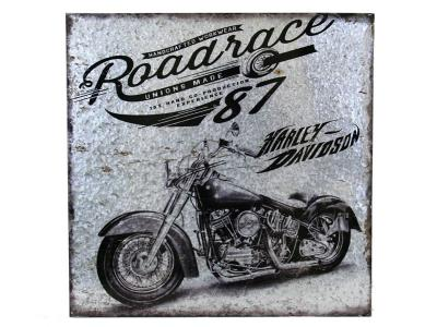 Boxman Metal Wall Art Motorcycle Roadrace - DV17529