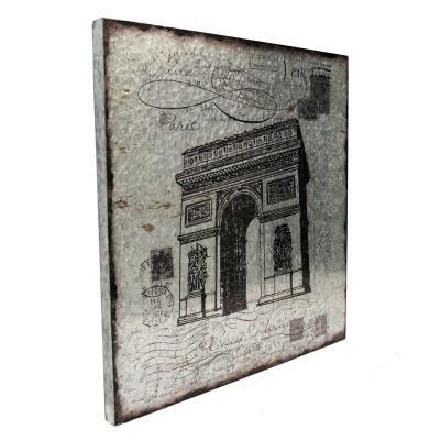 Boxman Metal Wall Art Triumphal Arch - DV17530