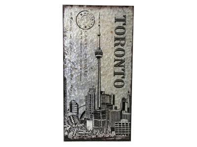 Boxman Metal Wall Art TORONTO CN Tower - DV17532