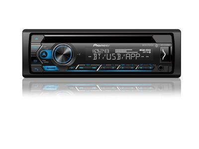Pioneer CD Receiver with Improved Smart Sync App Compatibility And Built-in Bluetooth - DEH-S4220BT