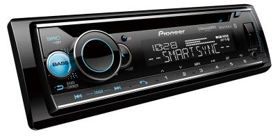 Pioneer CD Receiver with Enhanced Audio Functions and Smart Sync App Compatibility - DEH-S6220BS